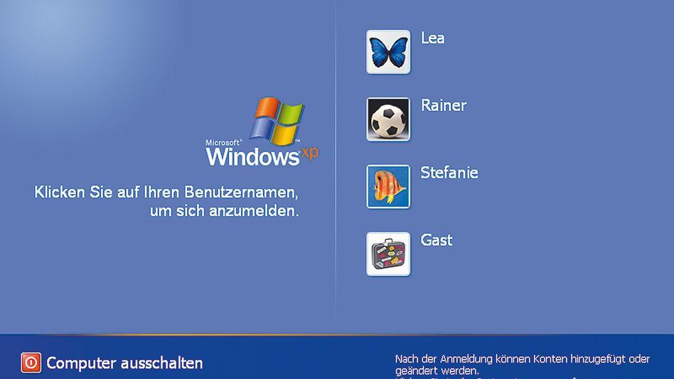 Alt-System Windows XP (Screenshot): Am Dienstag endet die Unterstützung