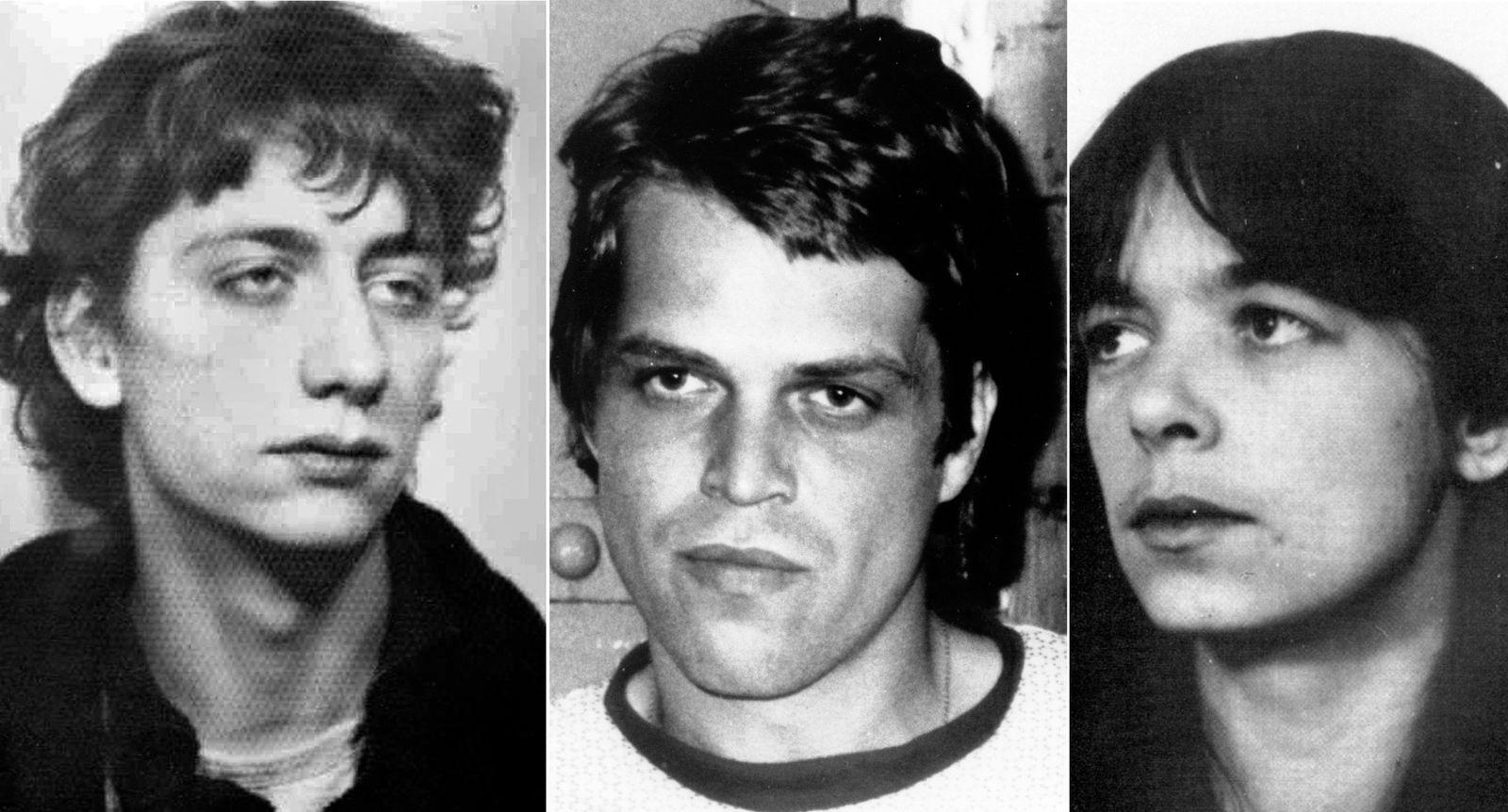 EINMALIGE VERWENDUNG Ex-RAF-Terroristen