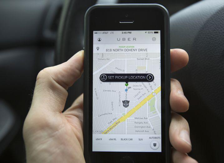 Ansicht der Uber-App: Fahrer begehren gegen die Firmenvorgaben auf