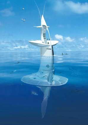 """""""SeaOrbiter"""" (Modell): Riesen-Seepferdchen für Forscher"""