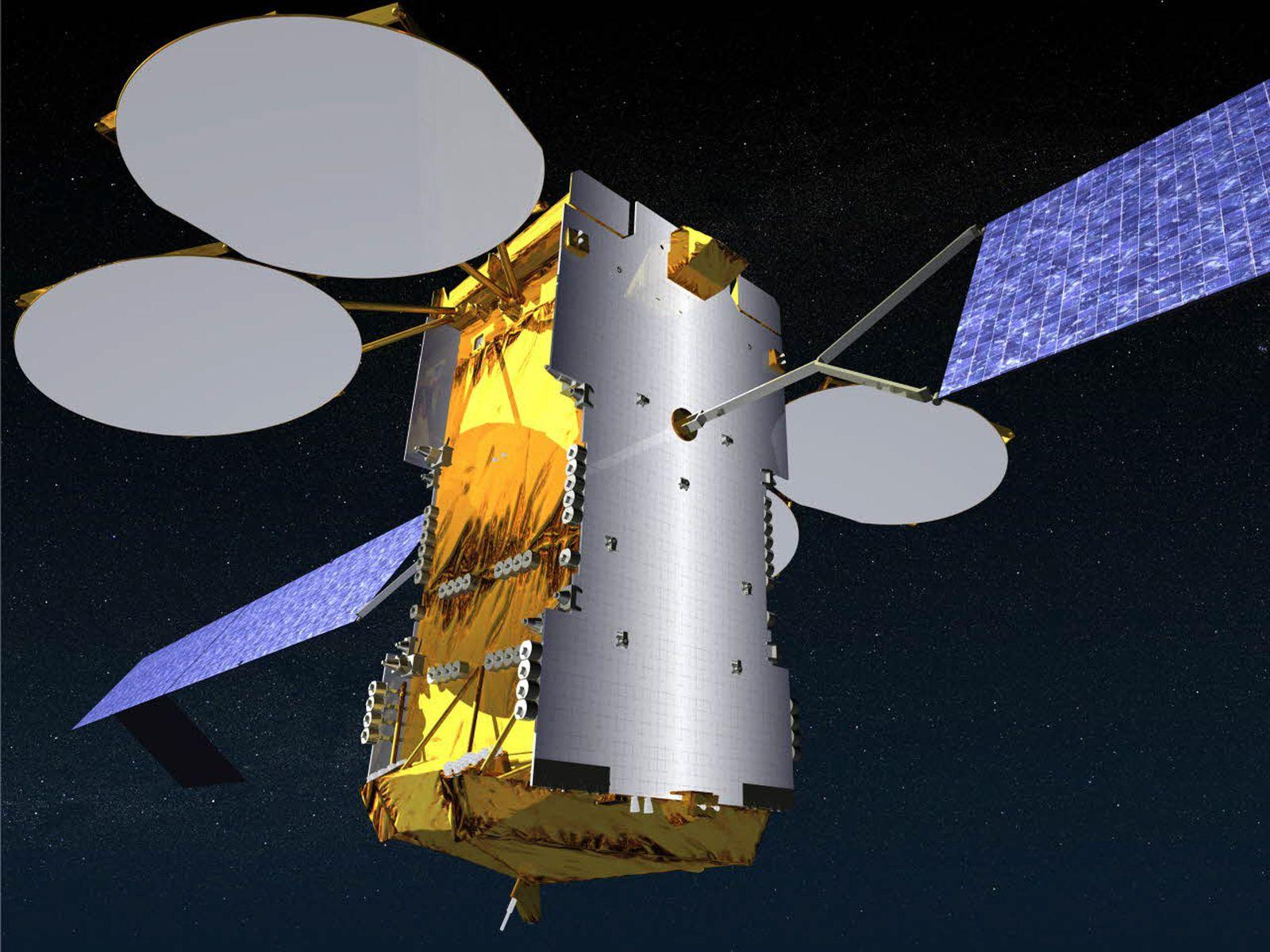 """Telekommunikations-Satellit """"Ka-Sat"""""""