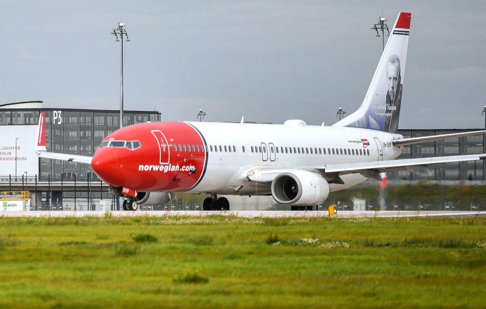 Fluggesellschaft Norwegian