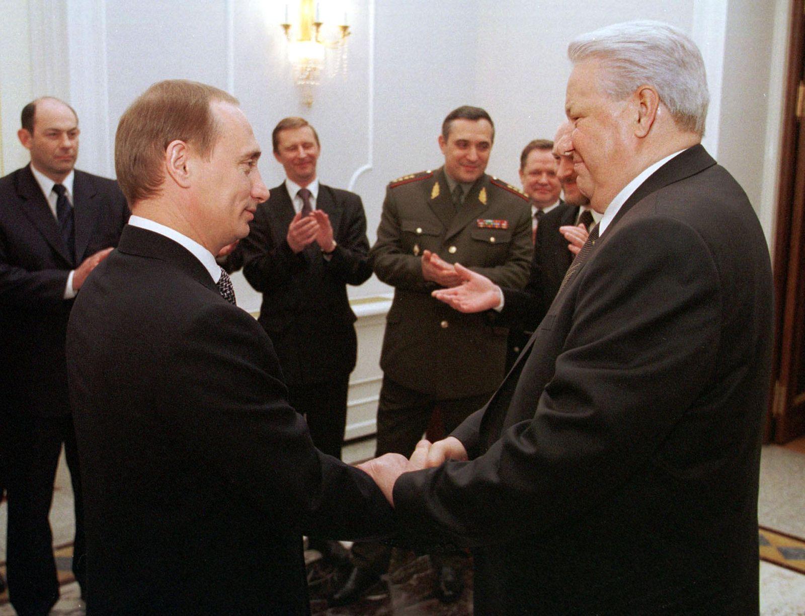 RUSSIA - YELTSIN-FAREWELL