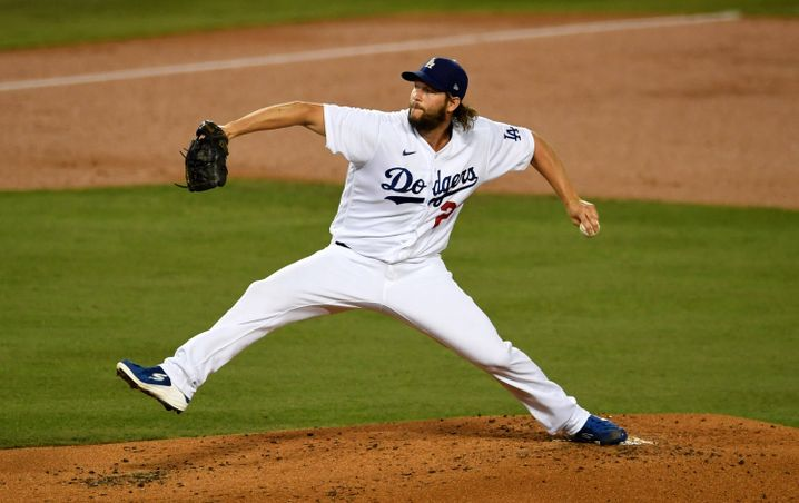 Stand achtmal im Major League Baseball All-Star Game: Pitcher-Superstar Clayton Kershaw von den Dodgers