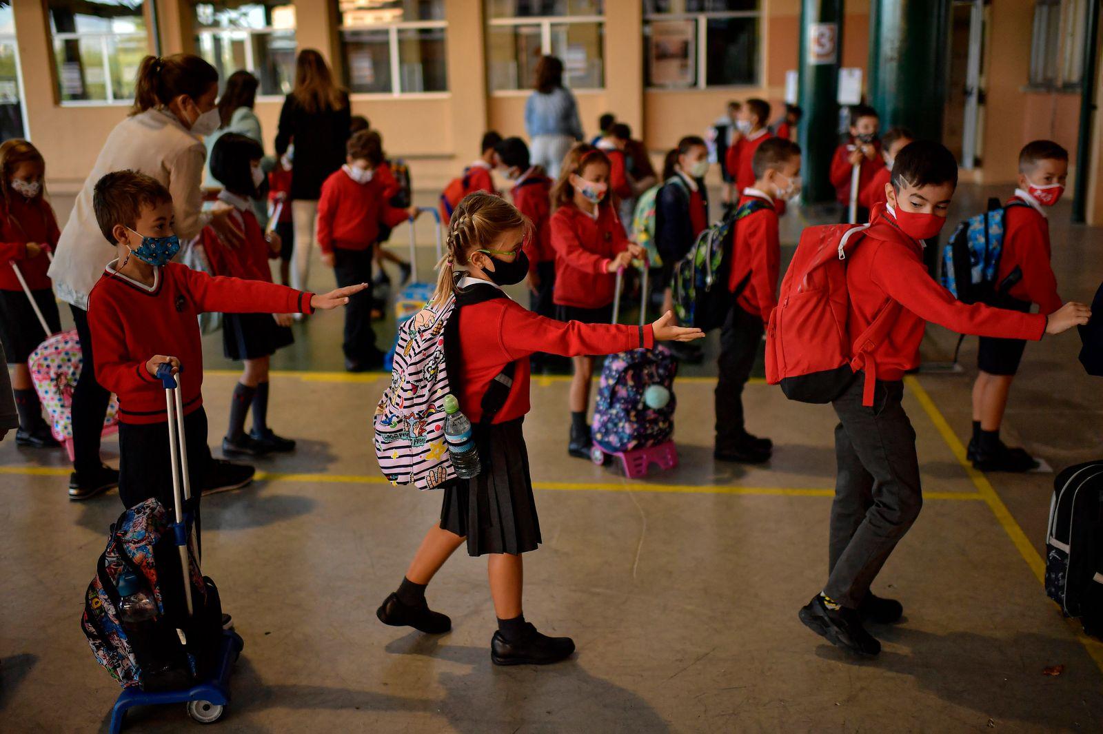 Coronavirus - Schulbeginn in Spanien