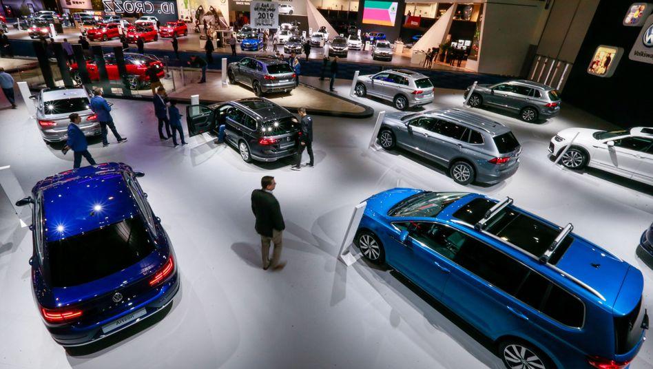 Volkswagen auf der Brüsseler Motor Show