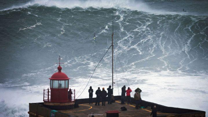 Big-Wave-Surfen: Monsterwellen in Nazaré