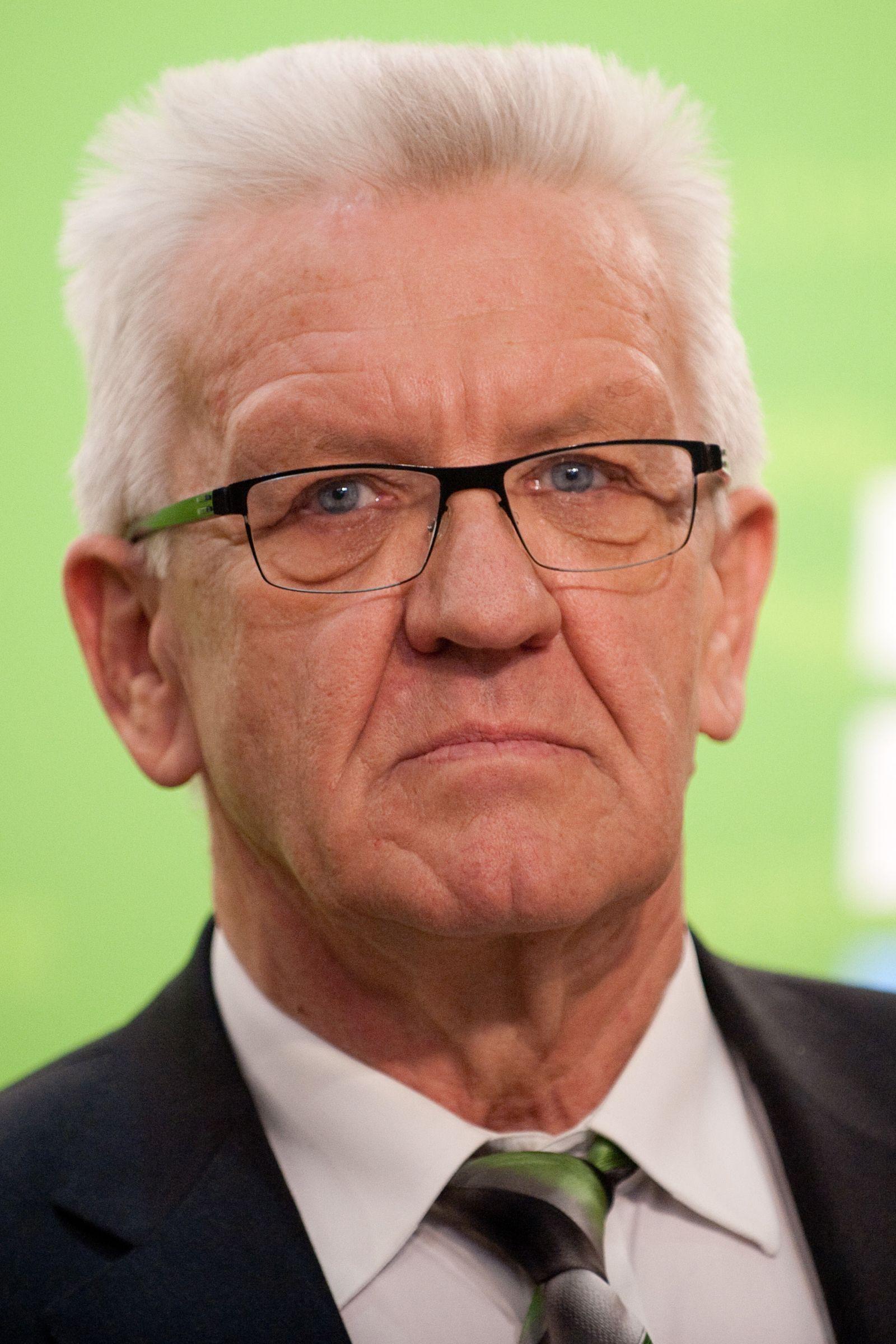 Deutsche Politiker des Jahres/ Winfried Kretschmann