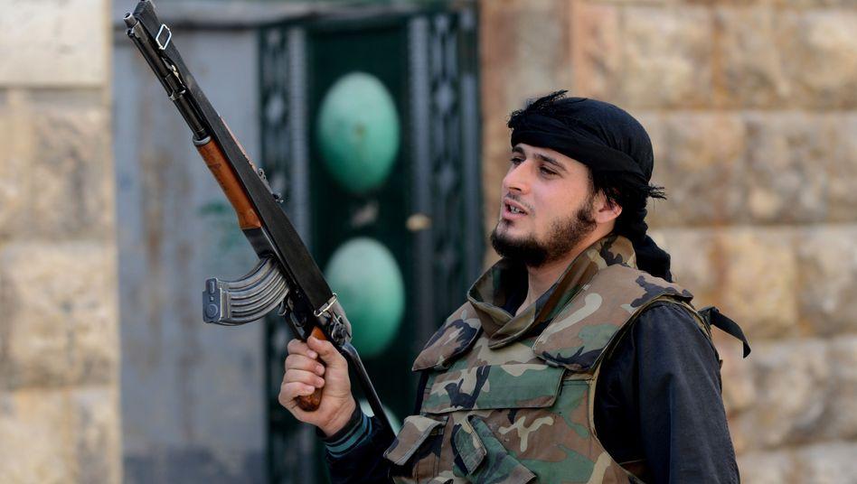 Syrischer Kämpfer in Aleppo: Wachsender Einfluss der Salafisten