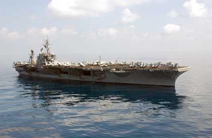 """USS Constellation: Schlüsselrolle in der Operation """"Enduring Freedom"""""""
