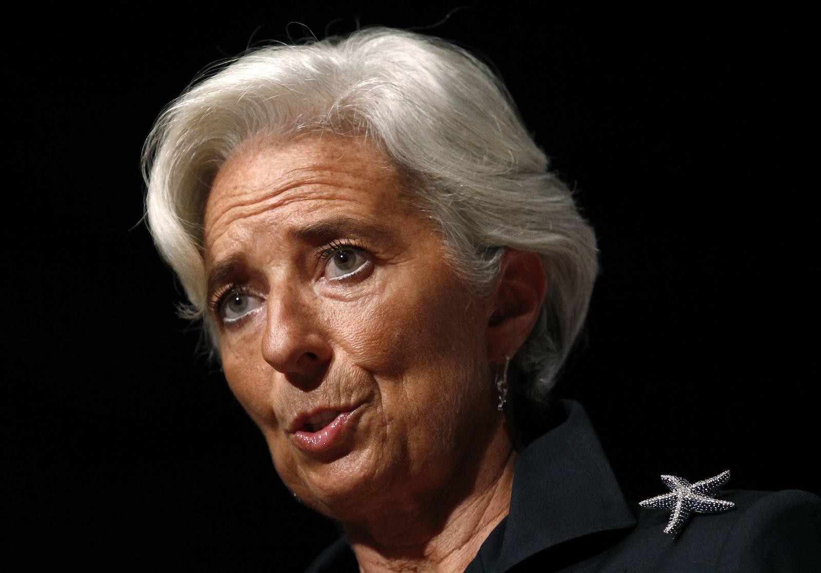 Lagarde IWF Griechen