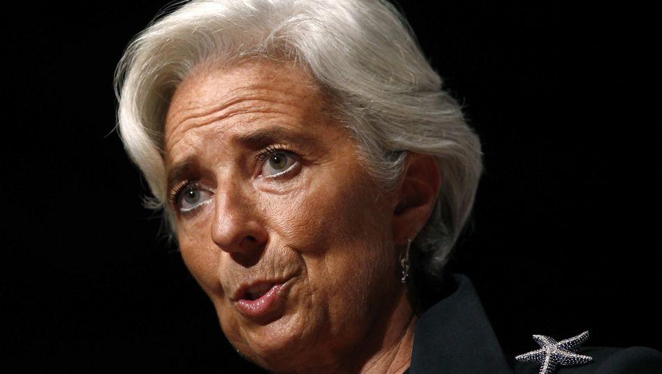 Keine Absicht: IWF-Chefin Lagarde hatte kräftig gegen Griechenland ausgeteilt