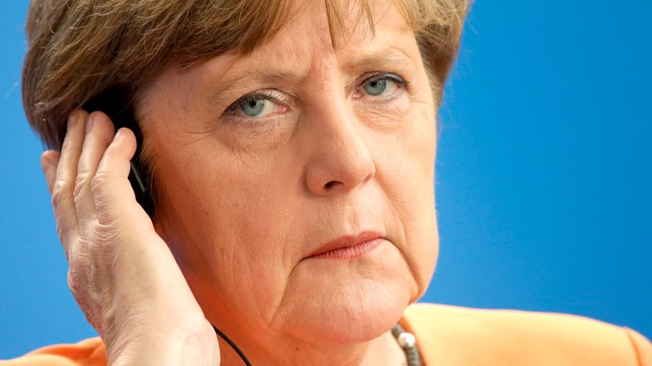 Angela Merkel: Abgehört und doch gelassen