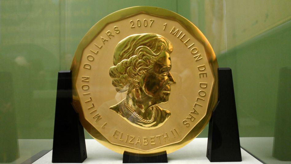 "100 Kilogramm schwere Goldmünze ""Big Maple Leaf"""