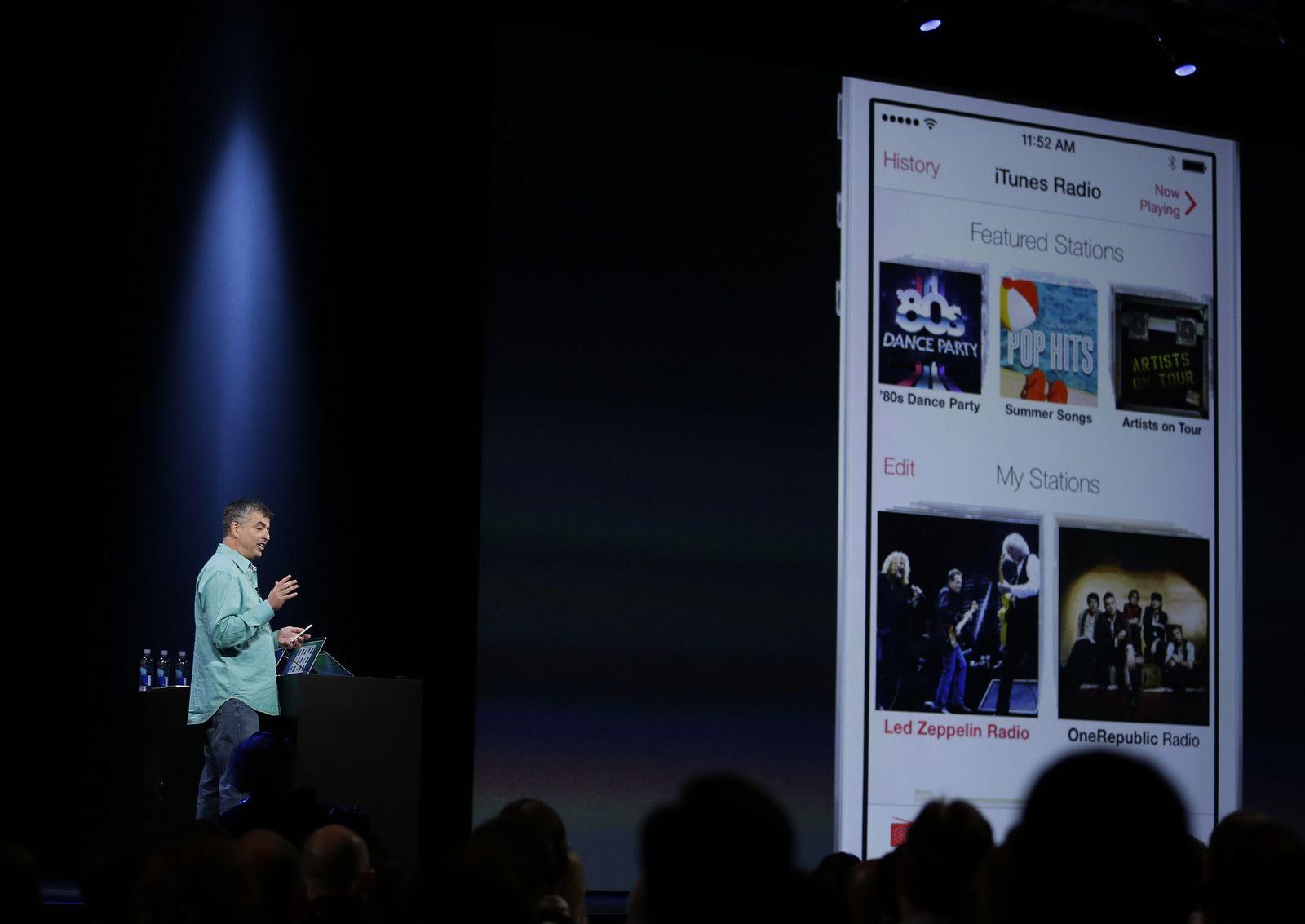 Eddy Cue / Apple / iTunes Radio