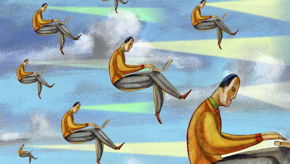 Internetnutzer: Dichter war die Vernetzung der Welt nie