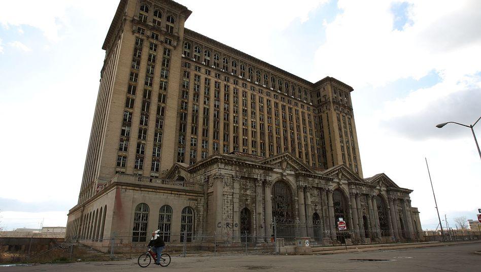 Ruine der Michigan Central Station in Detroit (Archiv-Bild)