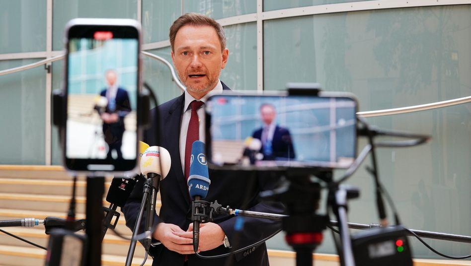 FDP-Chef Christian Lindner am 5. Mai 2021 in Berlin: Gute Umfragewerte