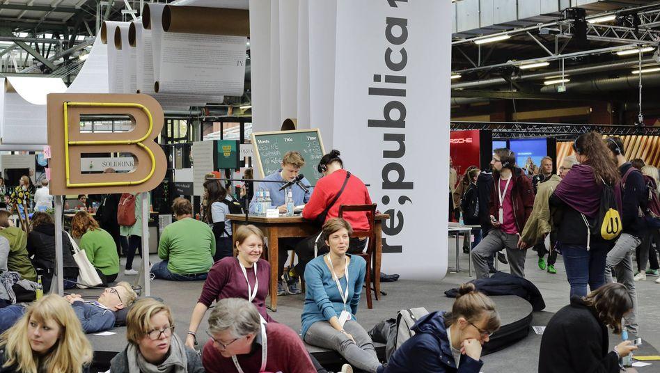 Besucher der re:publica 2019: eine der wichtigsten Netzkonferenzen