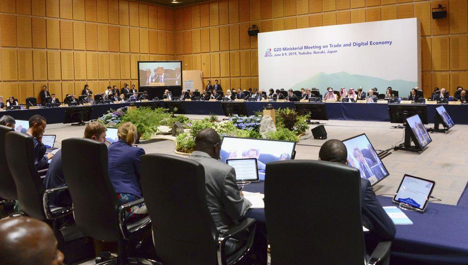 Ministertreffen der G20-Staaten im japanischen Tsukuba