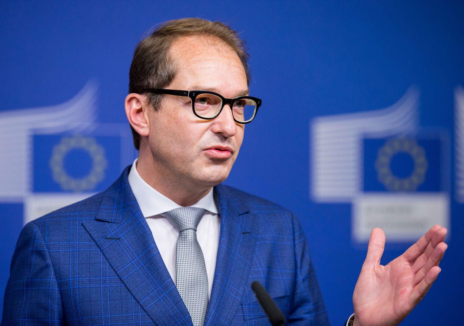 Alexander Dobrindt in Brüssel