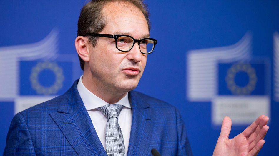 Verkehrsminister Alexander Dobrindt