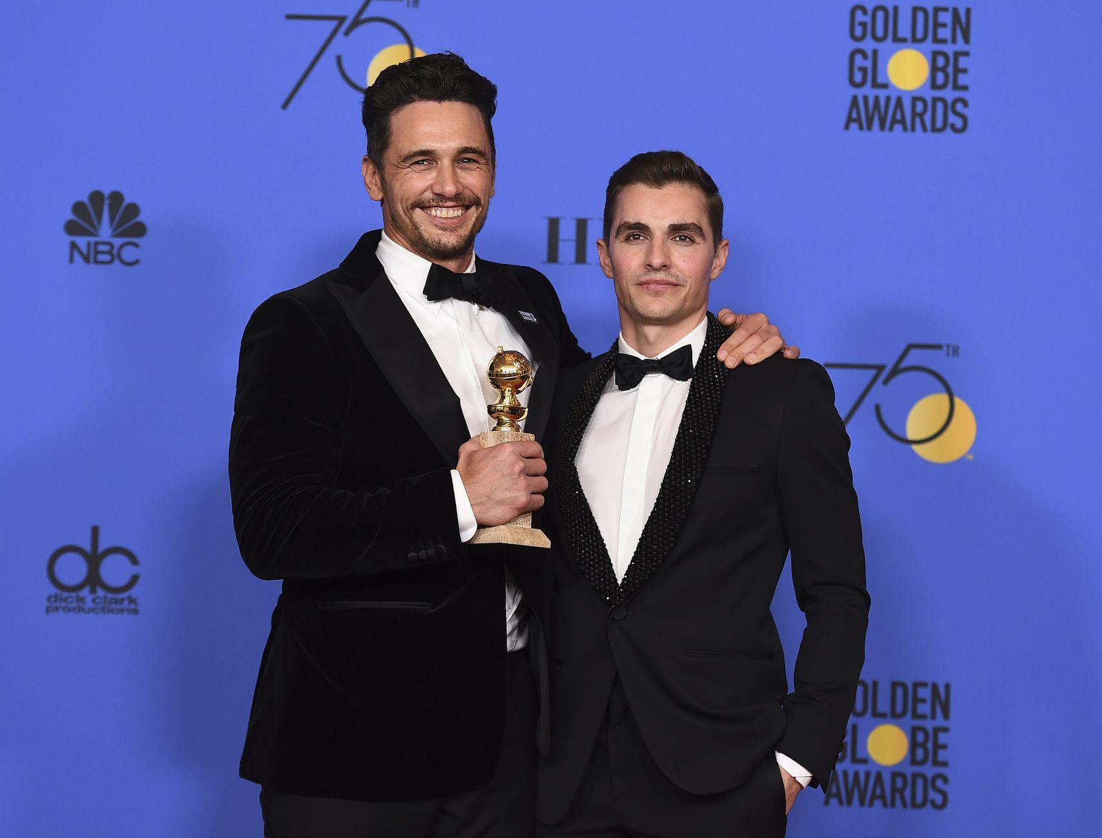 Golden Globes 2018/ James Franco