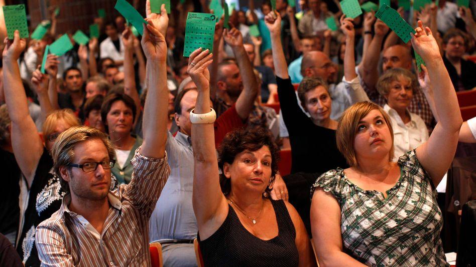 "Grüne bei Hamburger Koalitionsabstimmung: ""Ich will das zu Ende bringen"""