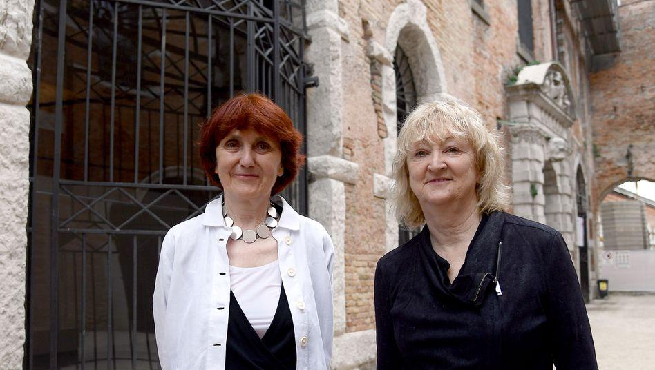 """""""Jedes Gebäude hat Einfluss auf uns"""": Shelley McNamara (links) und Yvonne Farrell"""