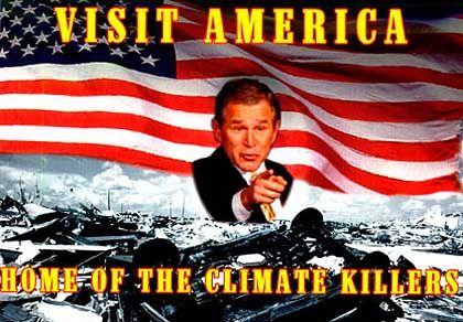 """Klimakiller""-Plakat für Greenpeace 2001"