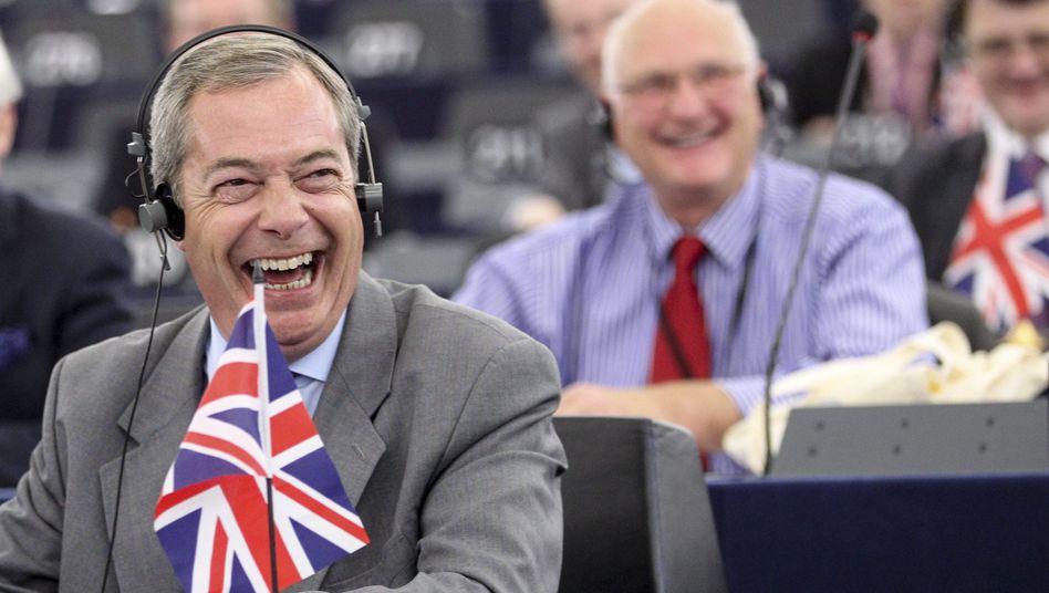 Rechtspopulist Farage: Fraktionen im EU-Parlament werben um Außenseiter