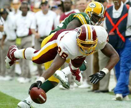 Bauchlandung: Die Redskins unterliegen den Green Bay Packers