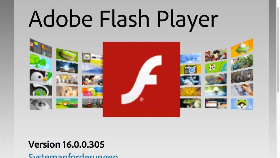 Logo des Flash-Players: Wieder einmal eine Sicherheitslücke geschlossen