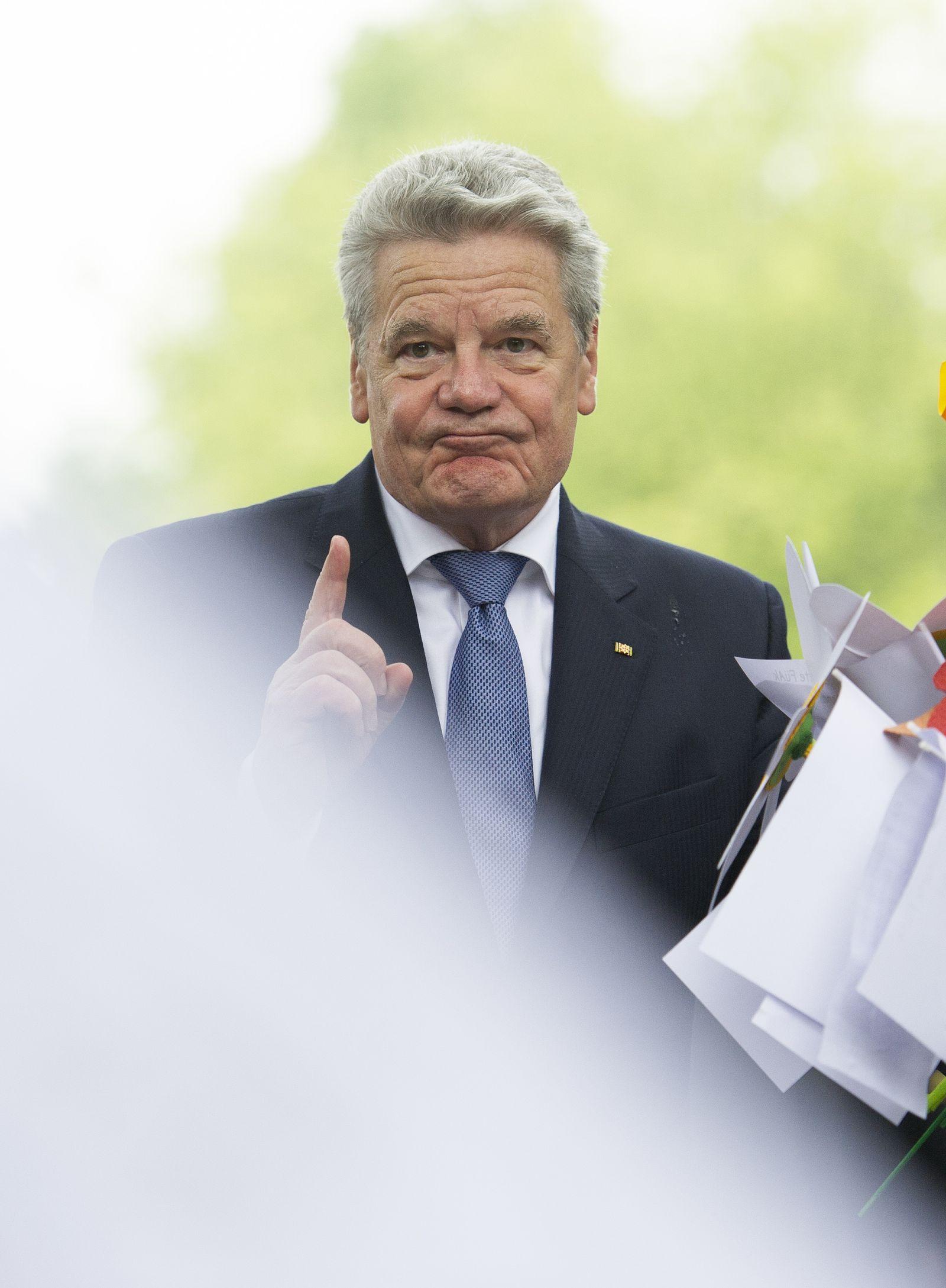 NICHT VERWENDEN Joachim Gauck