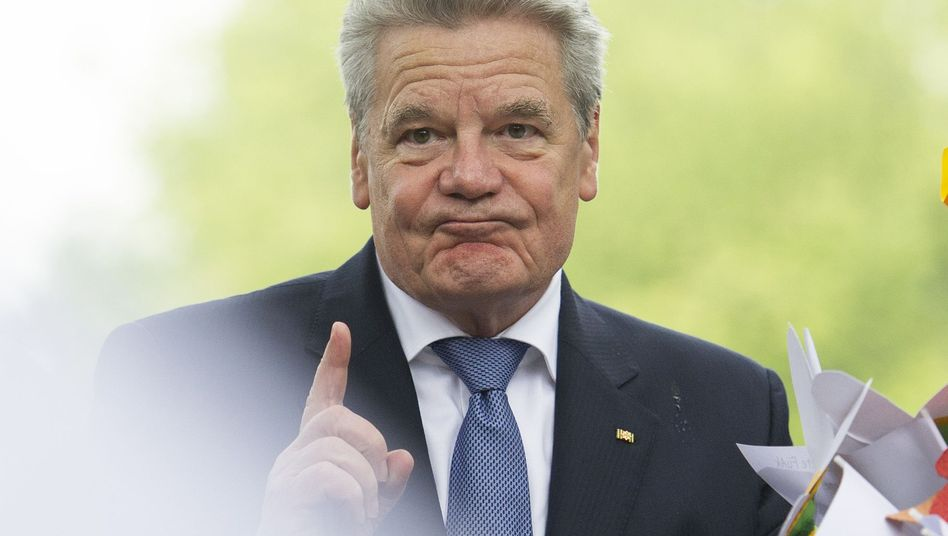 Bundespräsident Joachim Gauck: Kritik nach Rede zu Auslandseinsätzen