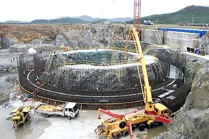 Nordkorea: Bau eines Atomreaktors bei Kumho