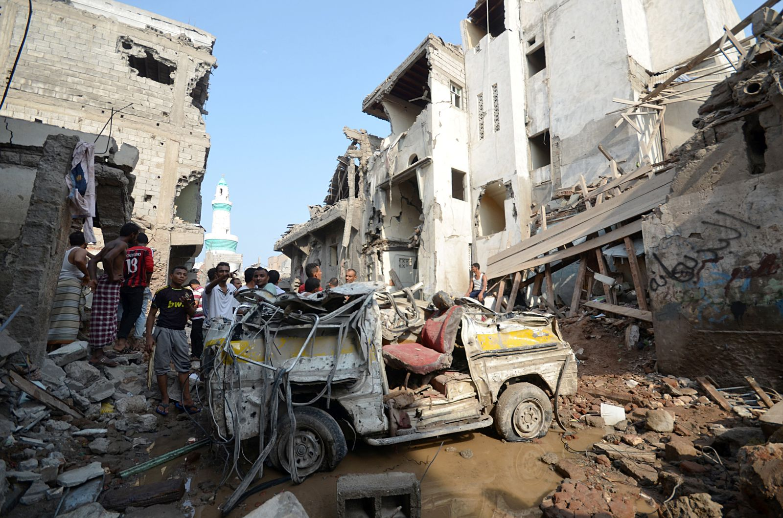 Jemen / Luftangriff / Hudajda / Hodeidah