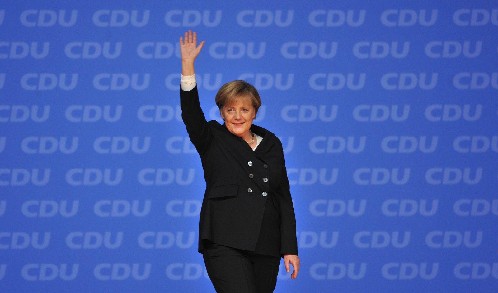 Merkel/ Bundesparteitag Karlsruhe