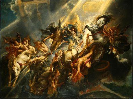 "Das Original, wie Rubens es sah: ""Der Fall des Phaeton"" von 1605"
