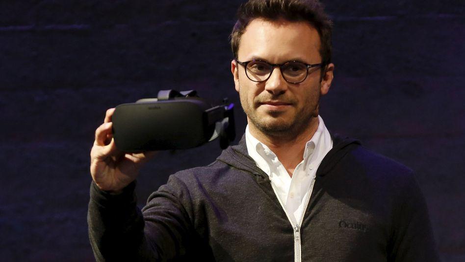 Oculus-CEO Brendan Iribe: Das ist das Serienmodell der Oculus Rift