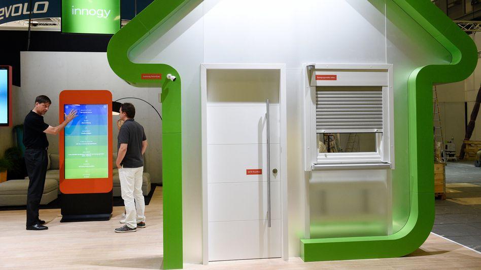 Smart Home-Werbung bei der Internationalen Funk-Ausstellung