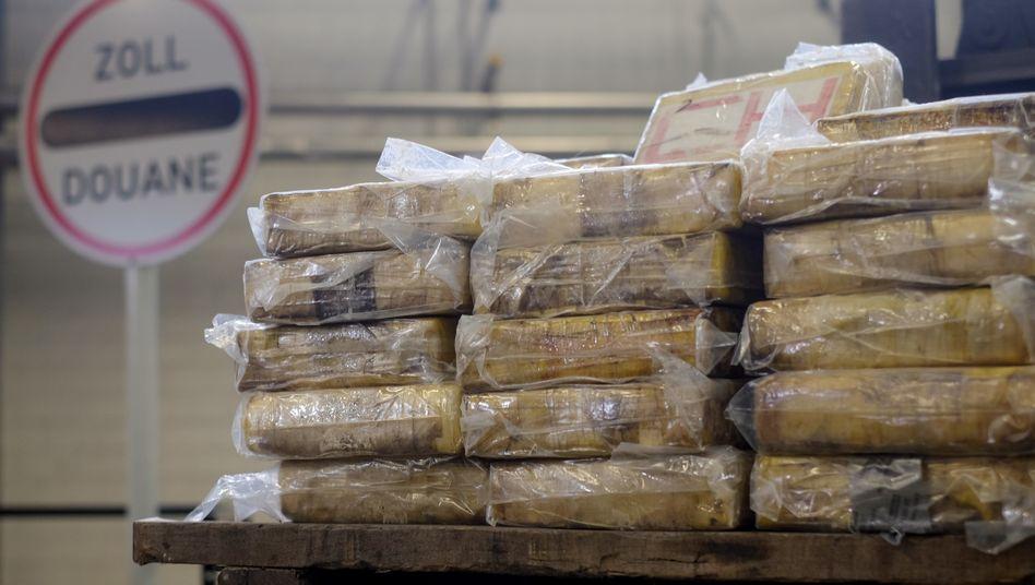 Geschmuggelte Kokainpäckchen (Symbolbild)