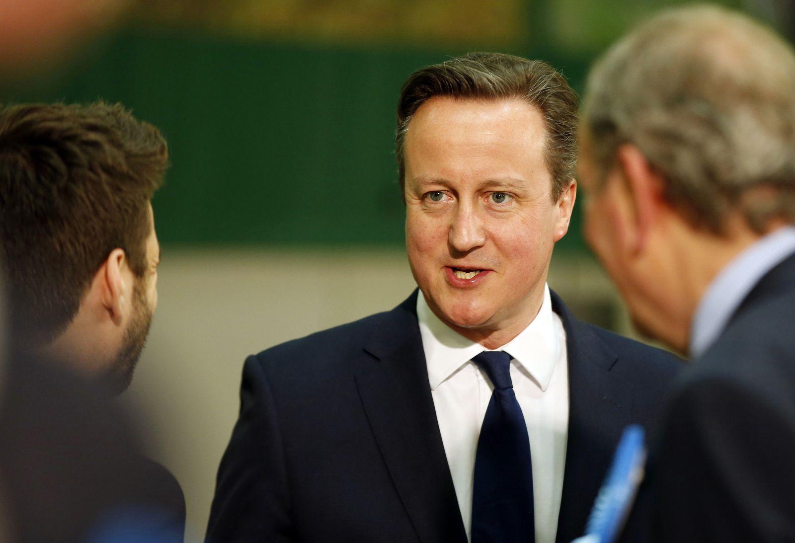 Britain Election David Cameron