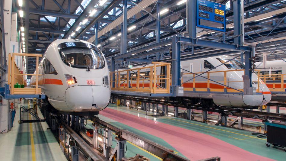 Wartung im ICE-Betriebswerk Berlin: Bahn hat Task Force eingerichtet