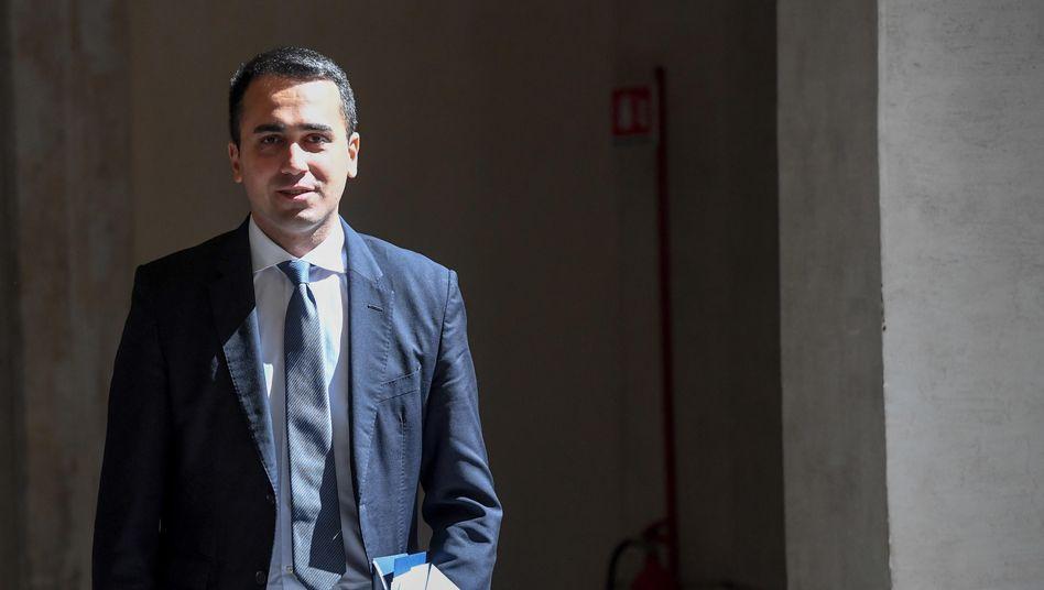 """Außenminister Di Maio: """"Salvini ist im Moment wirklich das kleinste Problem"""""""