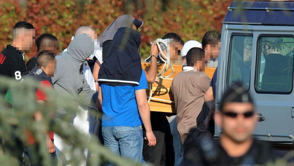 Attentäter von Toulouse: Merah in Südfrankreich beerdigt