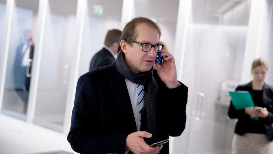 Minister Dobrindt