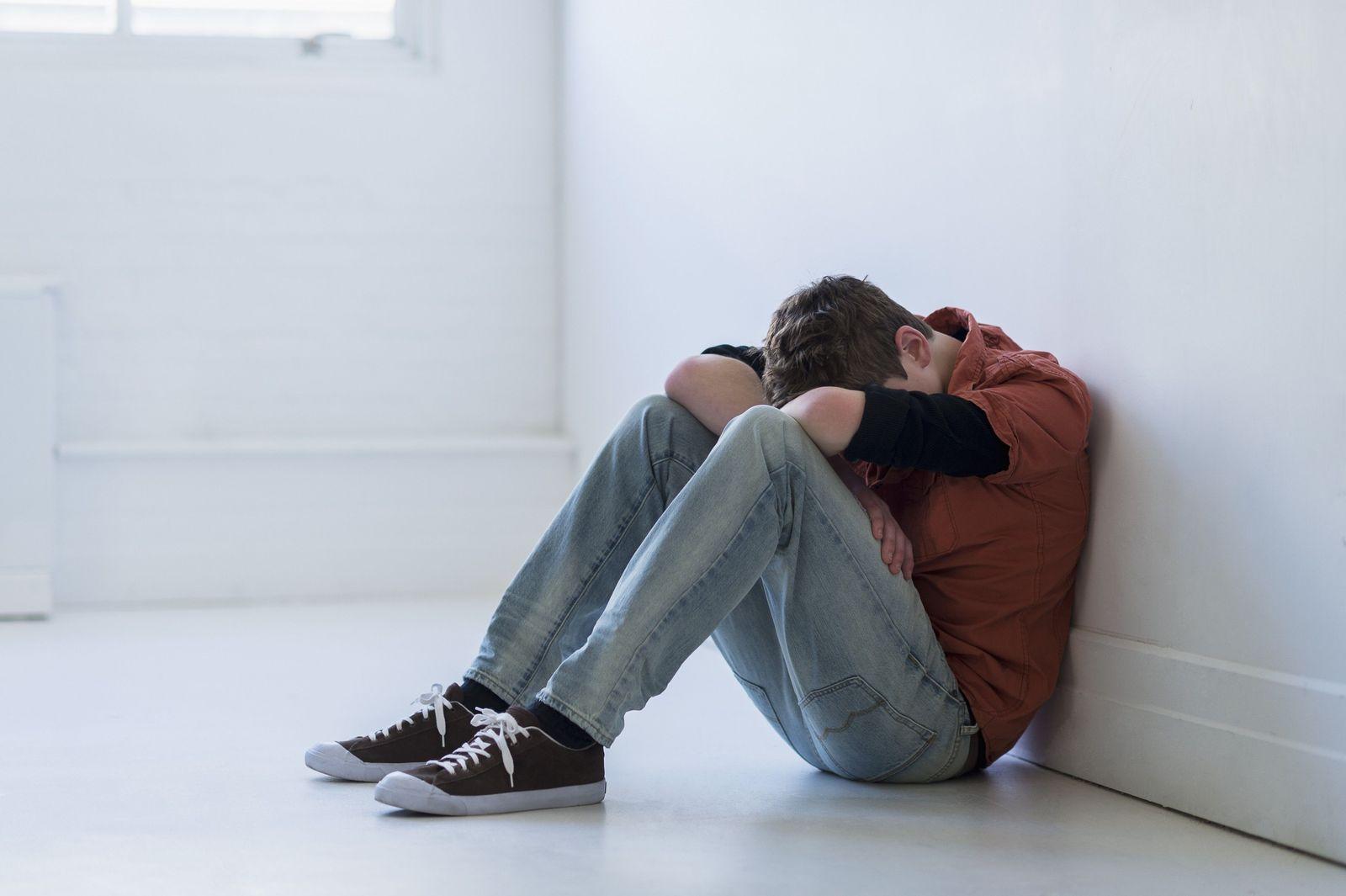 NICHT MEHR VERWENDEN! - Depression/ Junger Mann