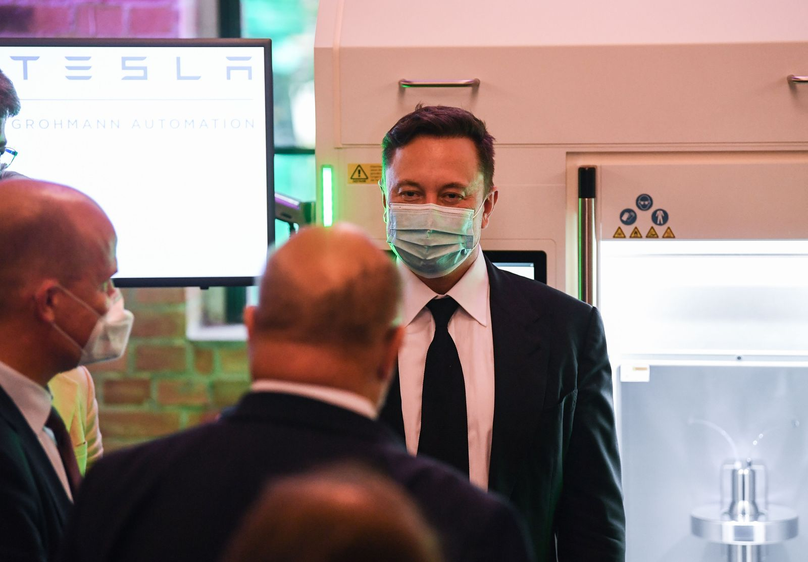 Elon Musk in Germany, Berlin - 02 Sep 2020