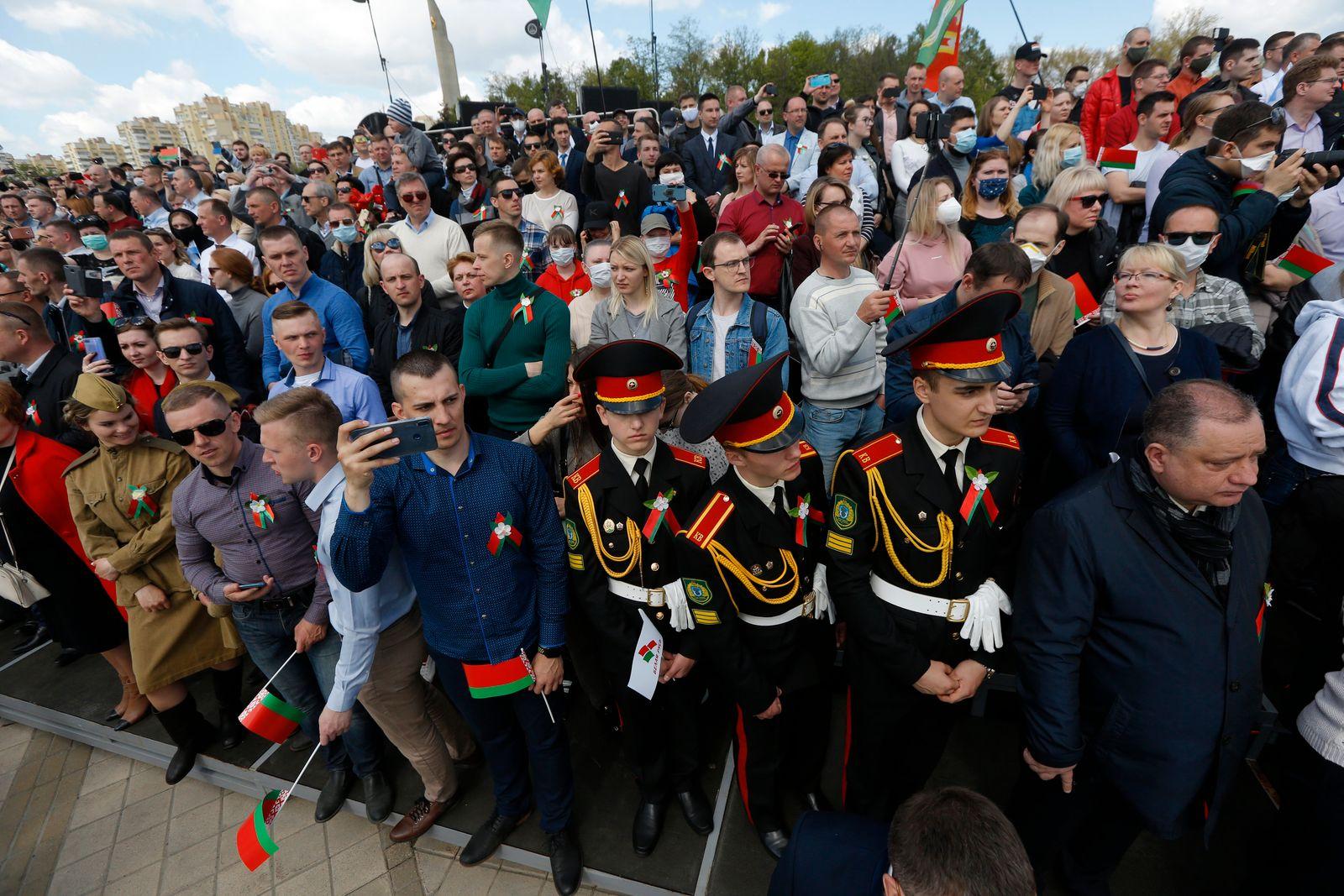 """""""Tag des Sieges"""" in Belarus"""